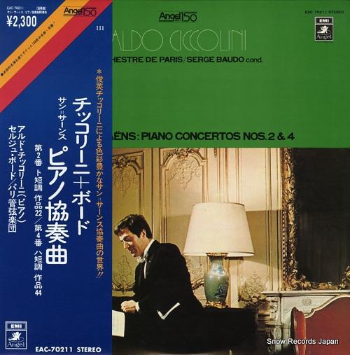CICCOLINI, ALDO saint-saens; piano concerto no.2 in g minor op.22 EAC-70211 - front cover