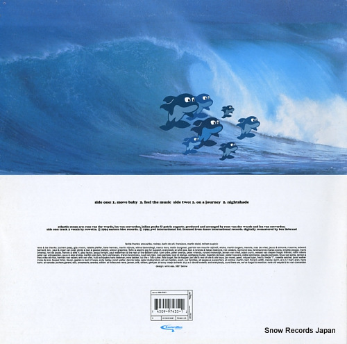 ATLANTIC OCEAN album sampler BLOCSAM1 - back cover