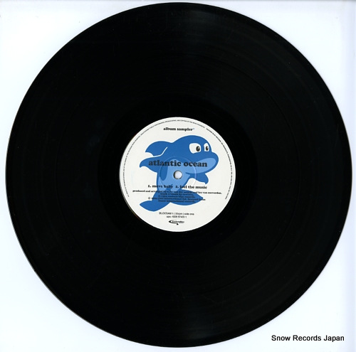 ATLANTIC OCEAN album sampler BLOCSAM1 - disc