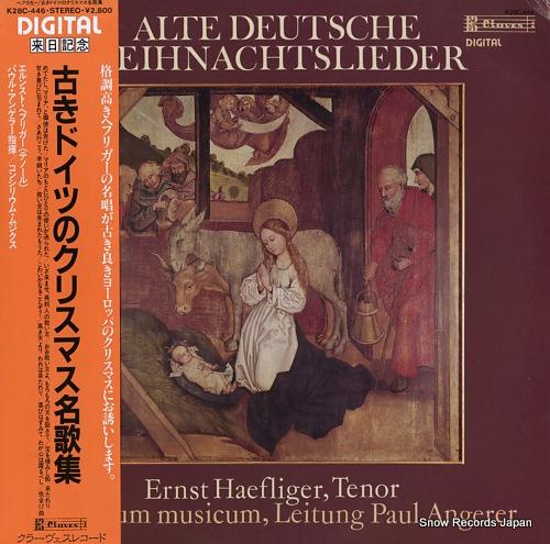 HAEFLIGER, ERNST alte deutsche weihnachtslieder K28C-446 - front cover