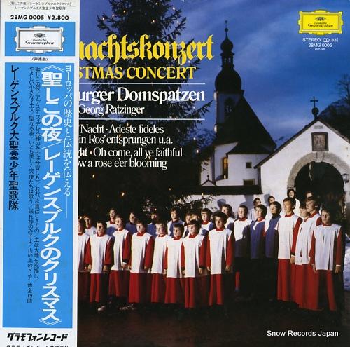 REGENSBURGER DOMSPATZEN weihnachtskonzert a christmas concert 28MG0005 - front cover