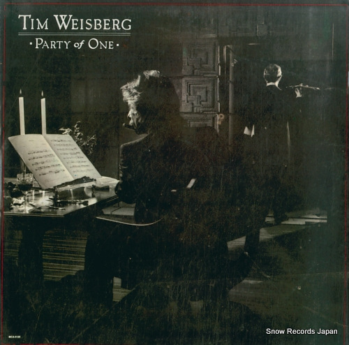 WEISBERG, TIM party of one MCA-5125 / MCA5476-9 - front cover