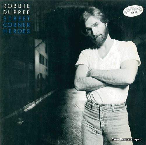 DUPREE, ROBBIE street corner heroes P-11017E - front cover