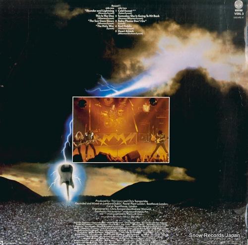 シン・リジィ thunder and lightning VERL3