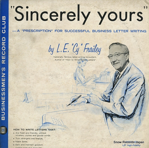 L.E. CY FRAILEY sincerely yours BRC107