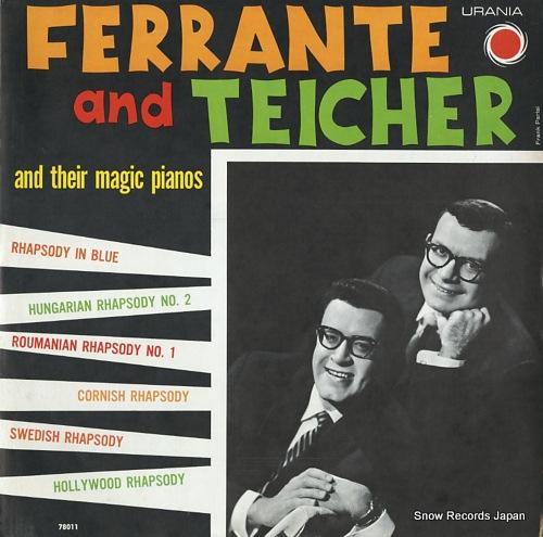 FERRANTE AND TEICHER rhapsody 78011 - front cover