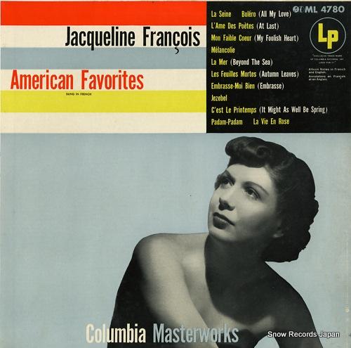 FRANCOIS, JACQUELINE - american favorites - ML4780