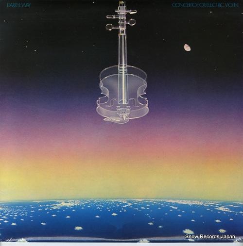 ダリル・ウェイ concerto for electric violin ILPS9550