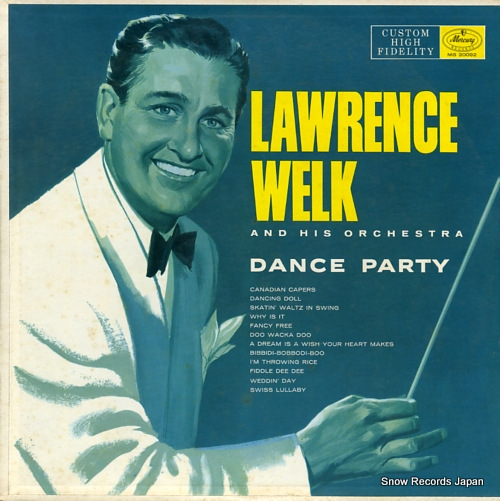 WELK, LAWRENCE dance party MG20092 - front cover