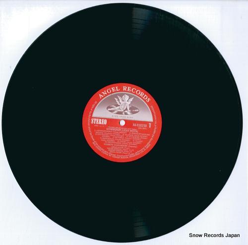 SCHWARZKOPF, ELISABETH schwarzkopf/lieder recital AA-93025B - disc