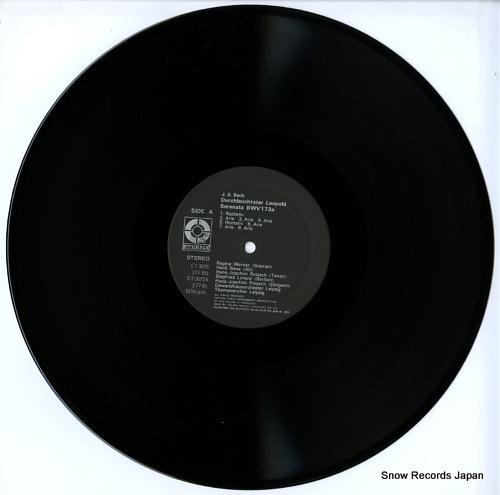 ROTZSCH, HANS-JOACHIM bach; durchlauchtster leopold serenata ET-3075 - disc