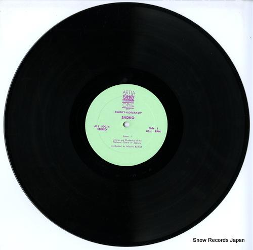 BASHICH, MLADEN rimsky-korsakov; sadko ALS-500 - disc
