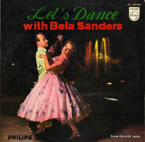 SANDERS, BELA let's dance with bela sanders FL-4039 - front cover