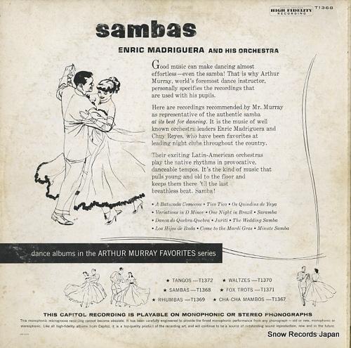 ENRIC MADRIGUERA sambas T1368
