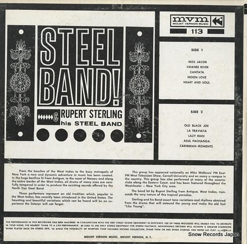 ルパート・スターリング steel band! MVS113