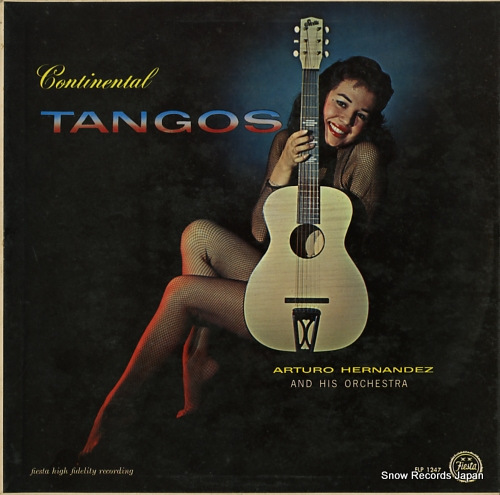 ARTURO HERNANDEZ continental tangos FLP1247