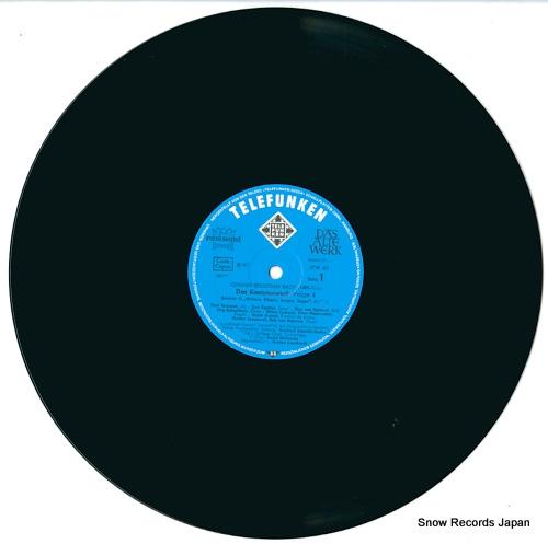 LEONHARDT, GUSTAV bach; complete cantatas volume 4 ISKW-41/2/SKW4/1-2 - disc