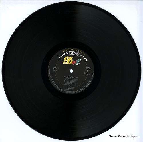 PATZAK, JULIUS schubert; die schone mullerin(complete) VOX-5539 - disc