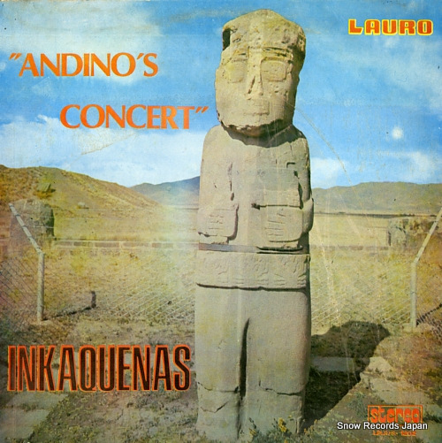 INKAQUENAS andino's concert LPLR/S-1202