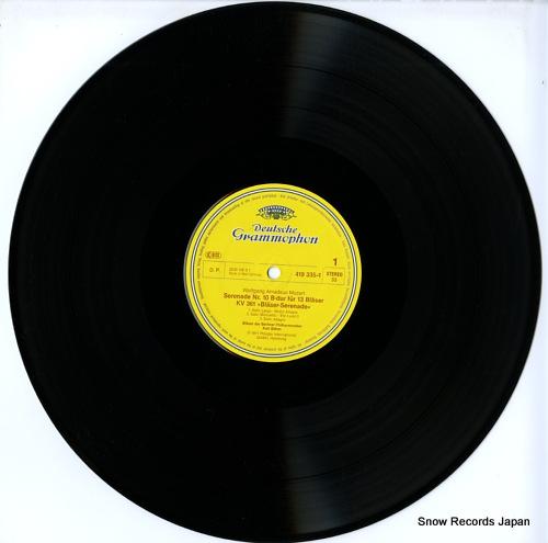 BOHM, KARL mozart; serenade b-dur fur 13 blaser kv361 419335-1 - disc