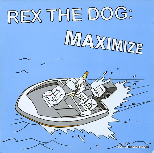 REX THE DOG maximize KOM145 - front cover