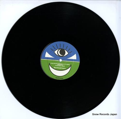 BROWN, CARLINHOS, AND DJ DERO sambadream VLMX1698-3 - disc