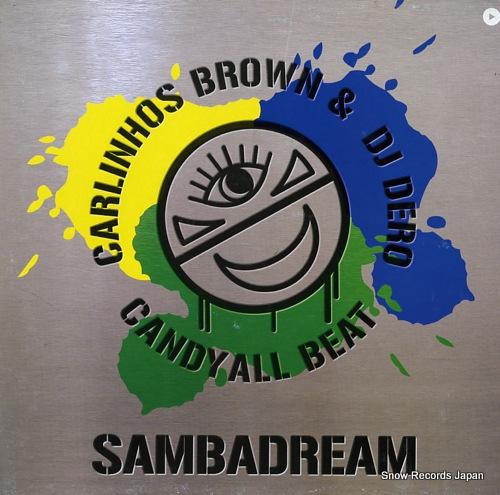 BROWN, CARLINHOS, AND DJ DERO sambadream VLMX1698-3 - front cover