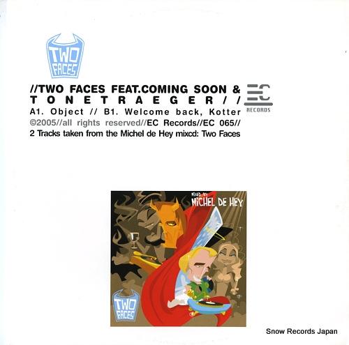 COMING SOON / TONETRAEGER two face feat. coming soon & tonetraeger EC065 - front cover
