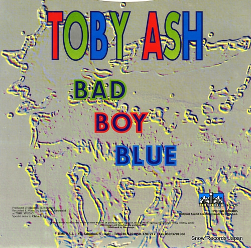 TOBY ASH bad boy blue TRD1279 - back cover