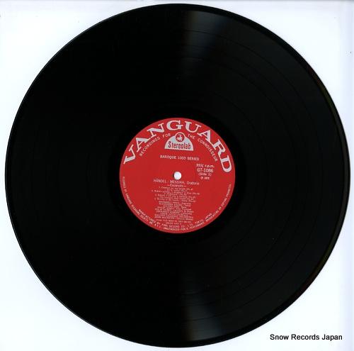 SOMARY, JOHANNES / MOGENS WOLDIKE handel; messiah, oratorio-excerpts- GT1086 - disc