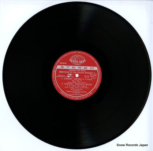 MARTON, DENES invitation to the italien baroque1 GT1087 - disc