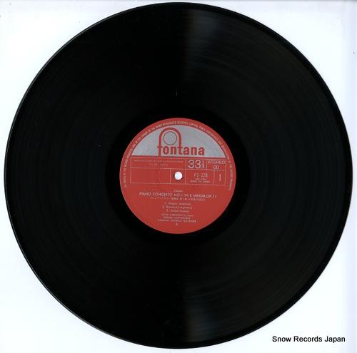 HARASIEWICZ, ADAM chopin; piano concerto no.1 in e minor, no.2 in f minor FG-228 - disc