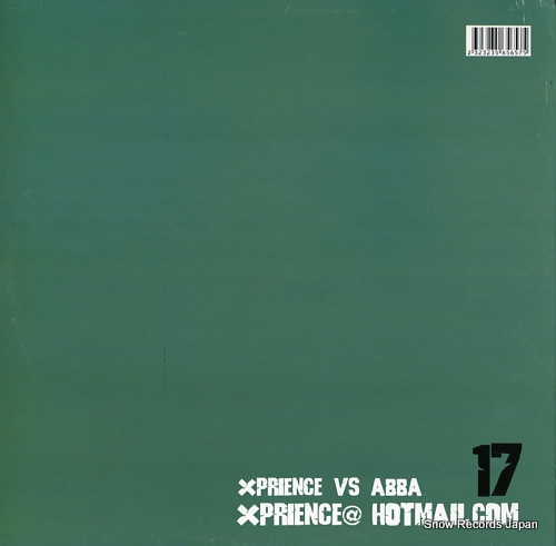 XPRIENCE VS. ABBA xprience17 XP17 - back cover