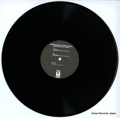 BROWN, CARLINHOS, AND DJ DERO candyall beat club ep(part1) VLMX1667-3 - disc
