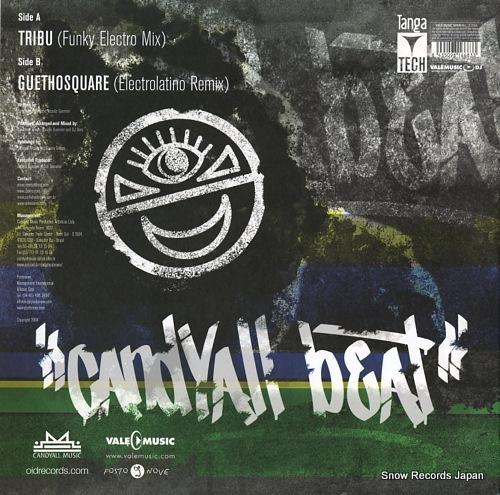 BROWN, CARLINHOS, AND DJ DERO candyall beat club ep(part2) VLMX1668-3 - back cover