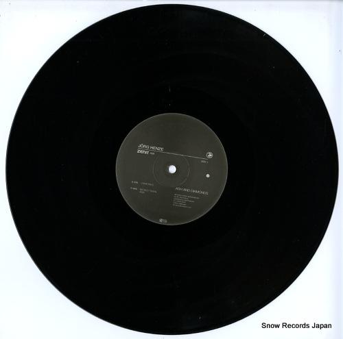HENZE, JORG ash and diamonds ZENIT25LP - disc