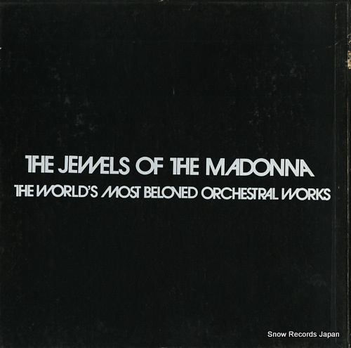 V/A the jewels of the madonna / the world's most beloved orchestral works SONS-30211-2 - back cover