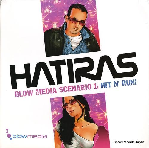 HATIRAS blow media scenario 1: hit n' run! BLO-001 - front cover