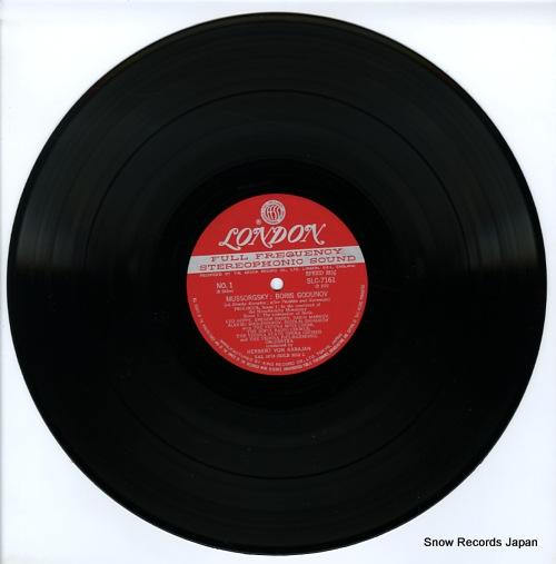 KARAJAN, HERBERT VON mussorgsky; boris godunov SLC7161/4 - disc