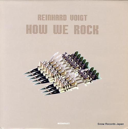 VOIGT, REINHARD how we rock KOMPAKT72 - front cover