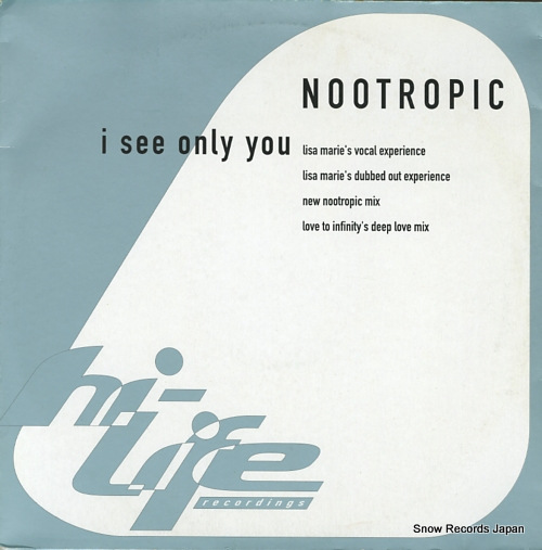 NOOTROPIC i see only you 577983-1 - front cover