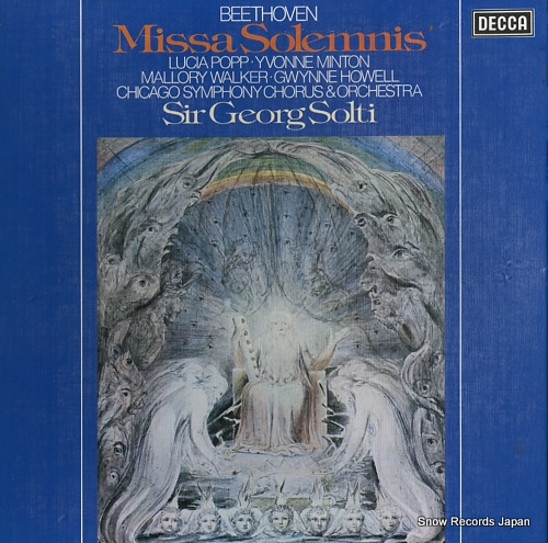 SOLTI, GEORG beethoven; missa solemnis D87D2 - front cover