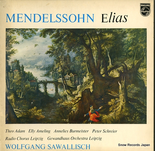 SAWALLISCH, WOLFGANG mendelssohn; elias, op.70 13PC-103-05 - front cover