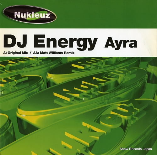 DJ ENERGY ayra 0529PNUK - front cover