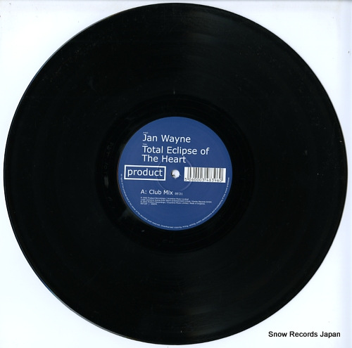 WAYNE, JAN total eclipse of the heart PDT10T - disc