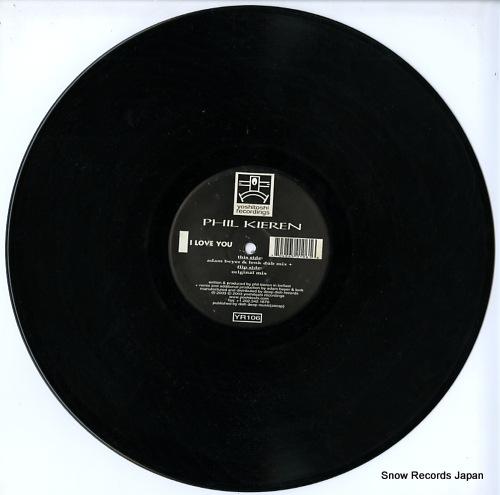 KIEREN, PHIL i love you YR106 - disc