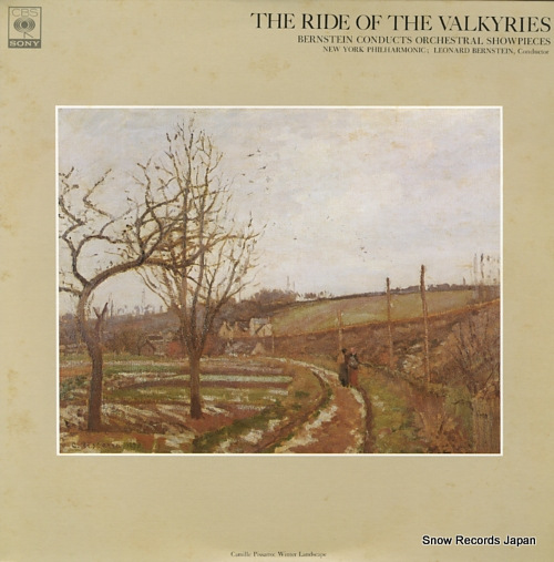 BERNSTEIN, LEONARD wagner; the ride of the valkyries from