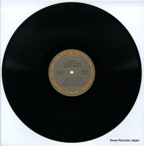 THOMAS, MICHAEL TILSON gershwin; rhapsody in blue(original version) FCCA508 - disc