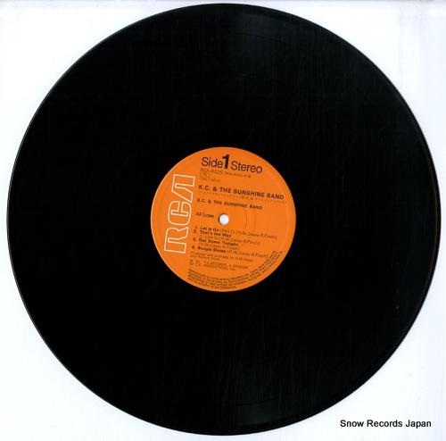 K.C.&ザ・サンシャイン・バンド ゲット・ダウン・トゥナイト RCA-6325