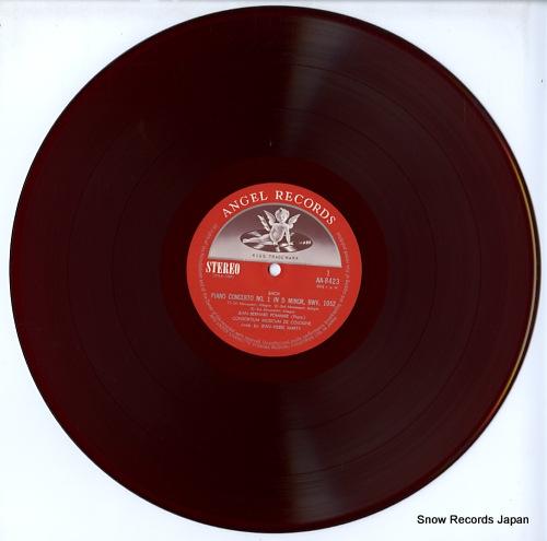 POMMIER, JEAN-BERNARD bach; 3 piano concertos AA-8423 - disc
